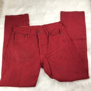 Levi's 501 XX Shrink To Fit Button Fly Jeans
